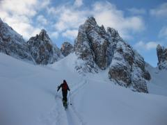 Gipfelfoto zur Tour: Forcella del Nevaio / Forcella della Neve